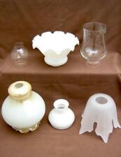 Glass lamp shade  Oil or electric  Choose one or more:  second one, half price