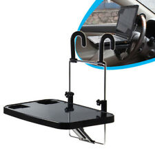 Auto Seat Back Pc Mount Tray Table Laptop Notebook DeskCar Food Drink Cup Holder