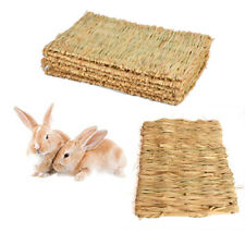 Woven Grass Mat for Rabbits Small Animals Natural Handmade Seagrass Mat Delicate