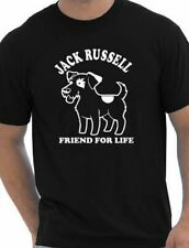Jack Russell Dog Lovers Pet  Mens T-Shirt Gift Size S-XXL