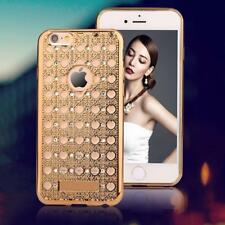 Luxury Agate Case For iPhone 6 6S Plus Fashion Bling Diamond Crystal Soft TPU GE