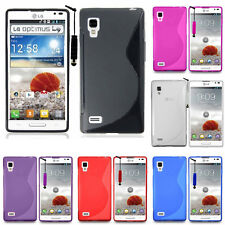Protective Cover For LG Optimus L9 P760 TPU Silicone Flip Case Cover Cover Shell