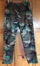 BDU WOODLAND PANTS US USGI MILITARY SURPLUS TROUSERS