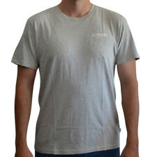 New Men's Afends NYC Short Sleeve Tee Shirt Top Grey Marle