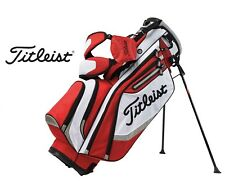 New Titleist Golf Lightweight Carry Stand Bag Yellow Purple Red 4-Way Divided