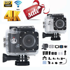2'' LCD 4K Wifi 1080P Ultra HD Sports Action Camera DV Camcorder Waterproof 30M