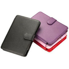 """PU Leather Executive Flip Wallet Case Cover for Kindle 4 G 6"""""""