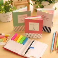 Kawaii Cute Animal Hardcover Memo Pad Post It Notepad Sticky Notes Stationery Di