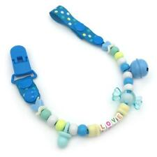 pacifier clips BABY DIY beaded pacifier clip, pacifier holder, personalized paci