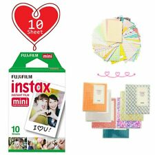10 Sheet - Fujifilm Instax Mini White Film for Fuji Mini 9 8 90 70 Polaroid Xmas