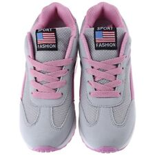 Causal Womens Height Increasing Sport Shoes Mesh Breath Canvas Sneakers Y751