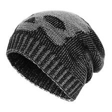 Winter Slouchy Beanie Hats Unisex Skull Knit Wool Ski Cap Hat 4 Color Warm Thick