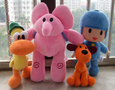NEW Lovely Set Of 4pcs Pocoyo Elly Pato Loula Soft Plush Stuffed Figure Toy Doll
