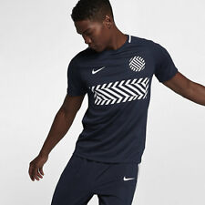Nike DRY ACADEMY MEN'S SHORT-SLEEVE FOOTBALL TOP Obsidian/White- S M,L,XL Or 2XL