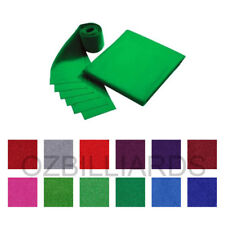"DOUBLE-SIDED WOOL POOL TABLE CLOTH & 6 X FELT STRIPS SUITS 7'' 8"" FREE DELIVERY"