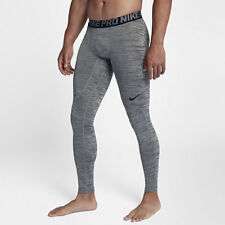 Nike PRO MEN'S TRAINING TIGHTS Black/Cool Grey- Size S, M, L, XL Or 2XL