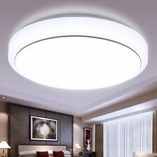 Modern Simple Celling Lamp Round Acrylic Sitting Room Bedroom Study Room Lamp