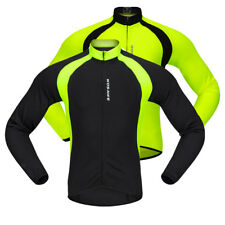 Full Zipper Cycling Jersey Long Sleeve Men Women Bike Bicycle Top Clothing