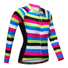 Cycling Bicycle Bike Jersey Long Sleeve Zip Jacket Winter Racing Clothing