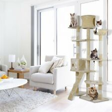 176cm Cat Kitten Tree Tower Furniture Toy Scratching Pole Post Activity Gym R6