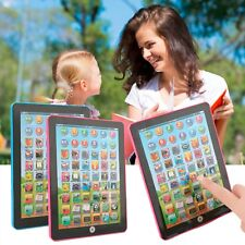 Tablet Pad Computer For Baby Kids Children English Educational Teach Toy Gift