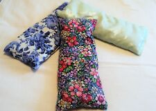 Aromatherapy Hot/Cold Organic Herbal Eye Pillow - YOUR CHOICE OF FABRIC & HERBS