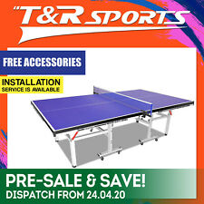 2018 New Double Happiness Quality 19MM Top Pro Size Table Tennis Ping Pong Table