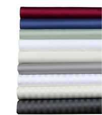 1000 TC Egyptian Cotton All Bedding Item US Full Size Solid/Stripe Colors.