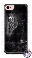 Halloween Scary Salem Black Cat Witchcraft Phone Case Cover Fits iPhone Samsung