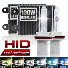 55W 75W 100W Xenon HID Headlight Conversion Kit Bi-Xenon High Low Beam 6K 8K W1