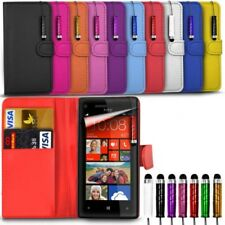 HTC One A9s - Card Slots Stand Wallet Flip Case & Mini Stylus