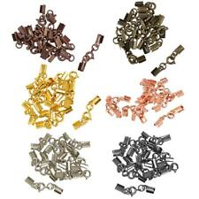 12pcs Alloy Clasp Jewelry Findings DIY Spring Clasps Necklace Bracelet 4mm