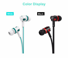 Earphone Stereo Sport Headphone Noise Isolating Headset With Mic iphone Mobile