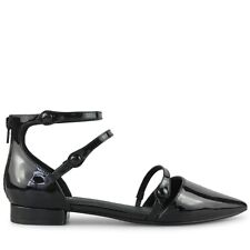 Wittner Ladies Shoes Black Patent leather Flats
