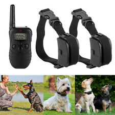 Petrainer 100LV 300M Dog Training Collar Electric Shock Collar + Remote For Dogs