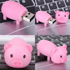 Silicone Pig USB1.1/2.0 Flash Memory Stick Pen Drive Disks For Computers gj9