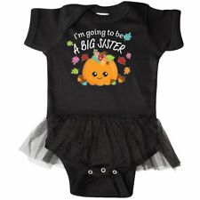 Inktastic I'm Going To Be A Big Sister- Cute Halloween Infant Tutu Bodysuit New