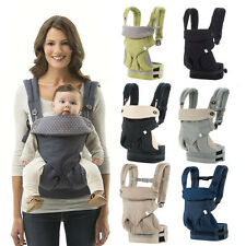 New 360 Four Position Breathable Baby Lap Strap Baby Infant Safety Ergo Carrier