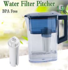 Water Filter Jug Drinking Water Cup Filtration Container with Filter Inside 2.5L