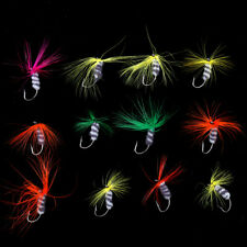 12Pc Assortment Dry Fly Fishing Flies Trout Salmon Insect Flies Fishing Lure