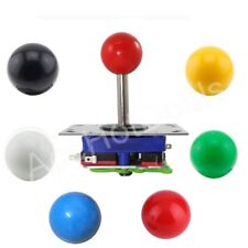 Classic 2/4/8 Way Arcade Game Pick Zippyy JoyStick 6 Colors Balltop DIY Parts