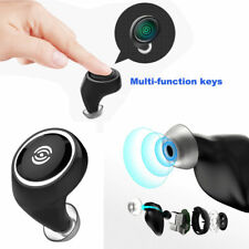 Mini Sport Wireless Bluetooth In-Ear Earbuds Headset Stereo Earphone Headphone