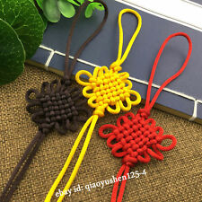10PCS Wholesale Hand Woven China Knot Tassel For Jewelry Decoration Accessories
