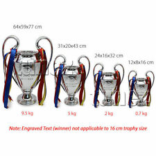 Replica Official UEFA Champions League Trophy Europeon Club Game Fans Collection