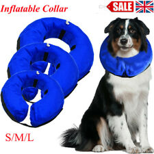 Inflatable Dog Puppy Cat Pet Vet Collar Post Surgery Lampshade Cone Neck Injury