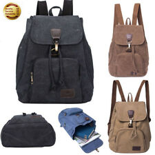 Women's Backpack Laptop Canvas Casual Hiking Rucksack Travel Camping School Bags