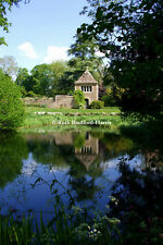 Cotswolds Garden Lake Pond Reflections Art Photograph, Mounted Print, Cards
