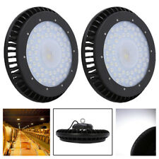 100W 150W 200W  LED High Bay UFO Light Lamp Warehouse LED Cool White Lights IP54