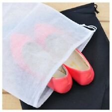 1/10pcs Tidy Non-Woven Shoe Organizers Storage Bag Travel Pack Protect