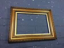 Antique Ornate Gold Gilt & Gesso Wooden Picture Frame, Slips, Large and Chunky